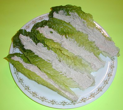 Romaine with Spread